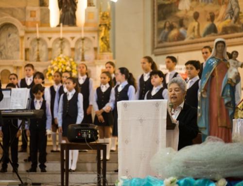 Celebração Eucarística da Família Carmelita